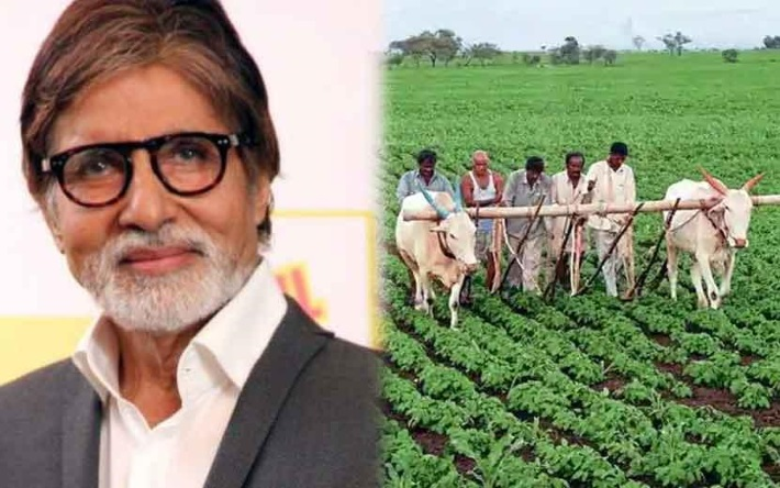 Image result for amitabh bachchan farmers